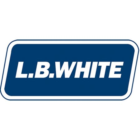 LB White Construction Tent heaters